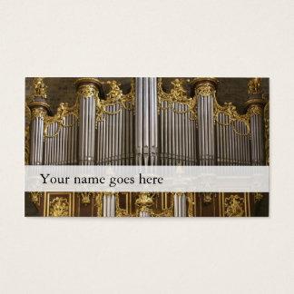 腹鳴の名刺-モンペリエのカテドラル 名刺