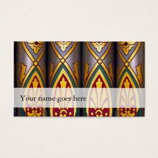 腹鳴の名刺-飾られた管 名刺