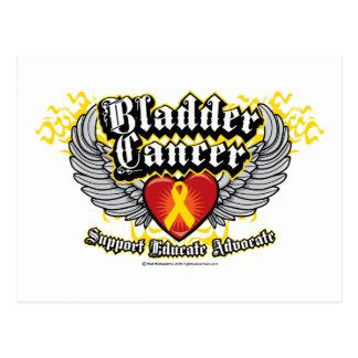 膀胱癌の翼 ポストカード