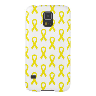 膀胱癌の黄色のリボンの電話箱 GALAXY S5 ケース