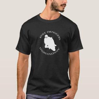 膝Draggers Annonymous Tシャツ