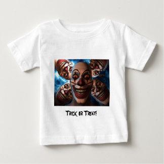 膨張の目を持つ邪悪なピエロ ベビーTシャツ