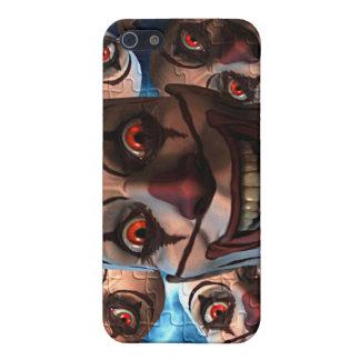 膨張の目を持つ邪悪なピエロ iPhone 5 CASE