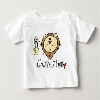 臆病なライオン ベビーTシャツ