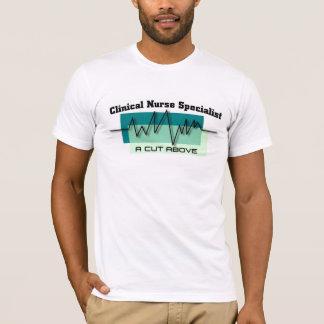 臨床ナースの専門家の医療専門家 Tシャツ