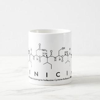 臨床医のペプチッド単語のマグ コーヒーマグカップ