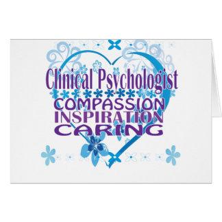 臨床心理学者のギフト カード