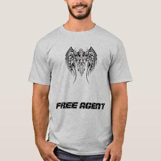 自主的行動者のペイントボール Tシャツ