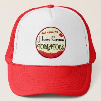 自作のトマトの庭師の帽子 キャップ