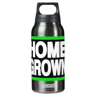 自作の2緑 断熱ウォーターボトル