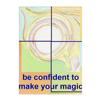 自信のための感動的なアクリルの壁の芸術 アクリルウォールアート
