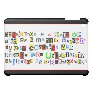 自信のDefiniton iPad Mini Case