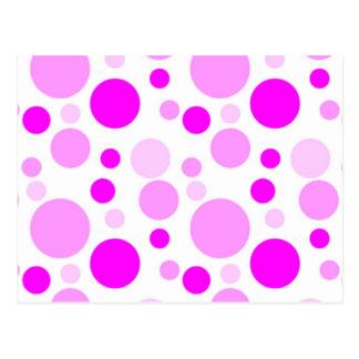 自信満々のピンクの泡 ポストカード
