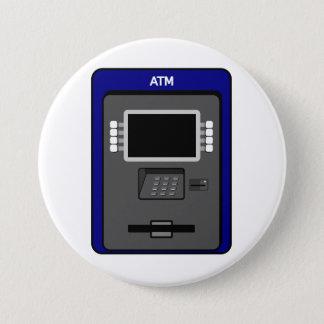 自動支払機機械ボタン 7.6CM 丸型バッジ