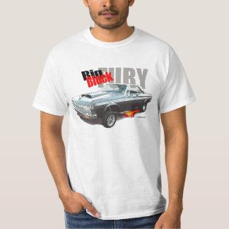 自動芸術のTシャツMOPAR 「64台のプリマスの大きいブロック Tシャツ
