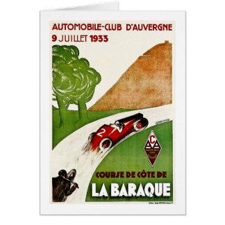 自動車クラブD'Auvergne 1933年 カード