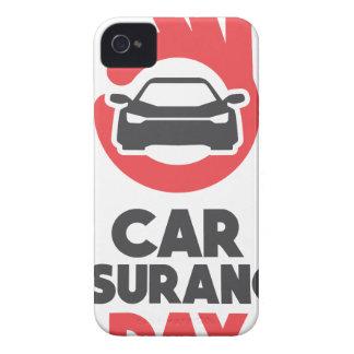 自動車保険日-感謝日 Case-Mate iPhone 4 ケース