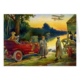 自動車1910年の最初の頃 カード