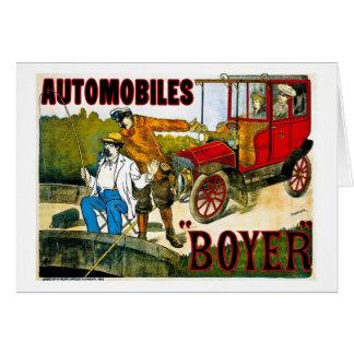 自動車Boyer -ヴィンテージ カード