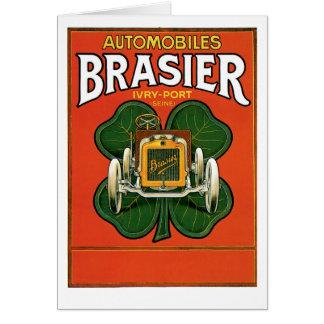 自動車Brasier カード