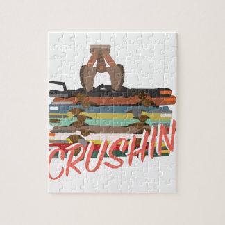 自動Crushin ジグソーパズル