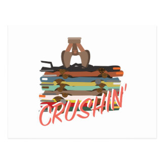 自動Crushin ポストカード