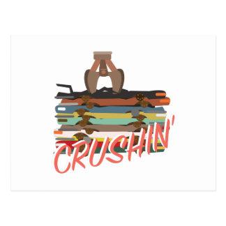 自動Crushin 葉書き