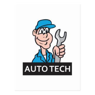 自動TECH ポストカード