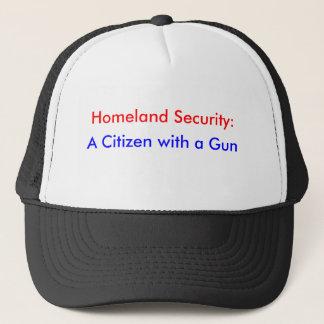 自国の保安: 、銃を持つ市民 キャップ