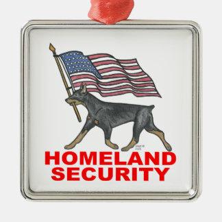 自国の保安HLSDP メタルオーナメント