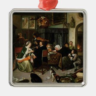 自堕落な世帯1668年 メタルオーナメント
