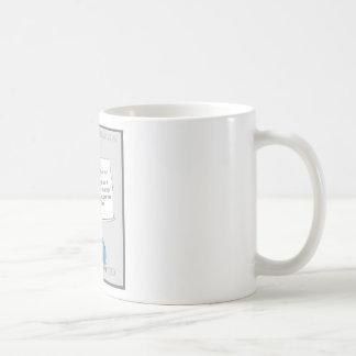 自己のコーヒーカップへのメモ コーヒーマグカップ