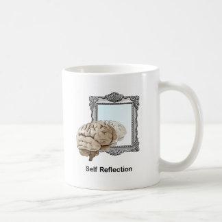 自己の反射 コーヒーマグカップ