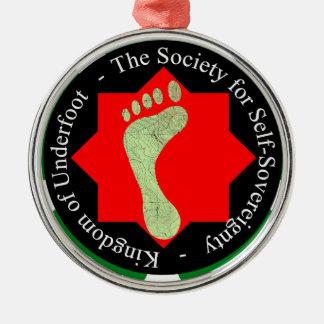 自己主権の社会 メタルオーナメント