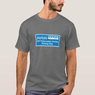 自己保存の社会のTシャツ Tシャツ