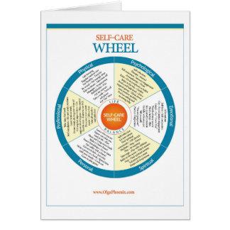 自己心配の車輪プロダクト カード