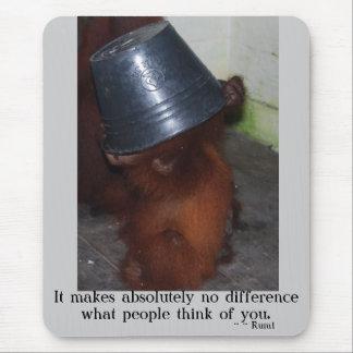 自己自信いじめること マウスパッド