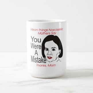 自己陶酔的な母間違いのマグでした コーヒーマグカップ