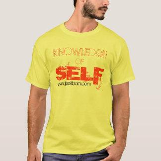 自己(黄色)の知識 Tシャツ