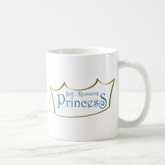 自己Resuingプリンセス コーヒーマグカップ
