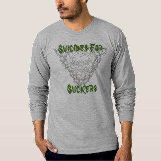 自殺のための、吸盤 Tシャツ