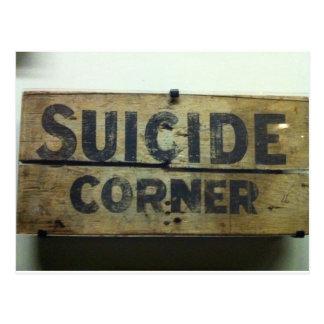 自殺のコーナー ポストカード