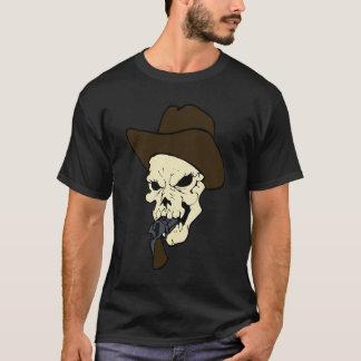自殺のスカル Tシャツ