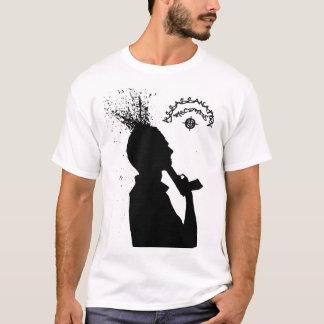 自殺のロゴ Tシャツ