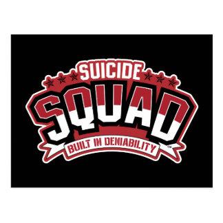 自殺の分隊否認権で造られる| ポストカード