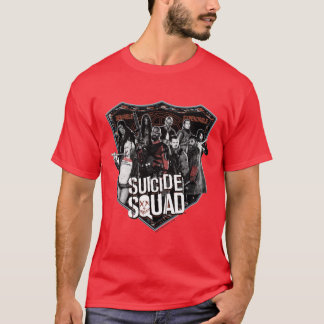 自殺の分隊|のグループのバッジの写真 Tシャツ