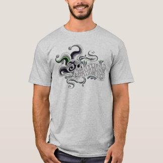 自殺の分隊|のジョーカーのスカル-ハハ Tシャツ