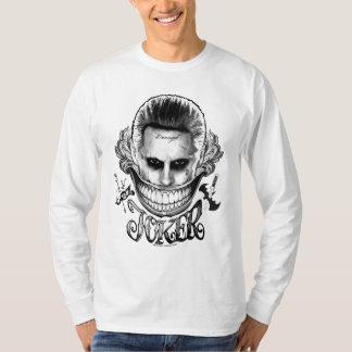 自殺の分隊|のジョーカーのスマイル2 Tシャツ