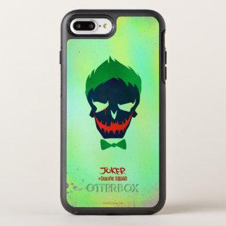 自殺の分隊|のジョーカーの頭部アイコン オッターボックスシンメトリーiPhone 7 PLUSケース