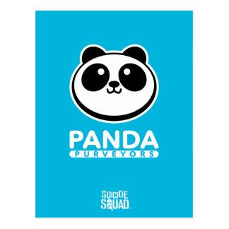 自殺の分隊|のパンダの御用達のロゴ ポストカード